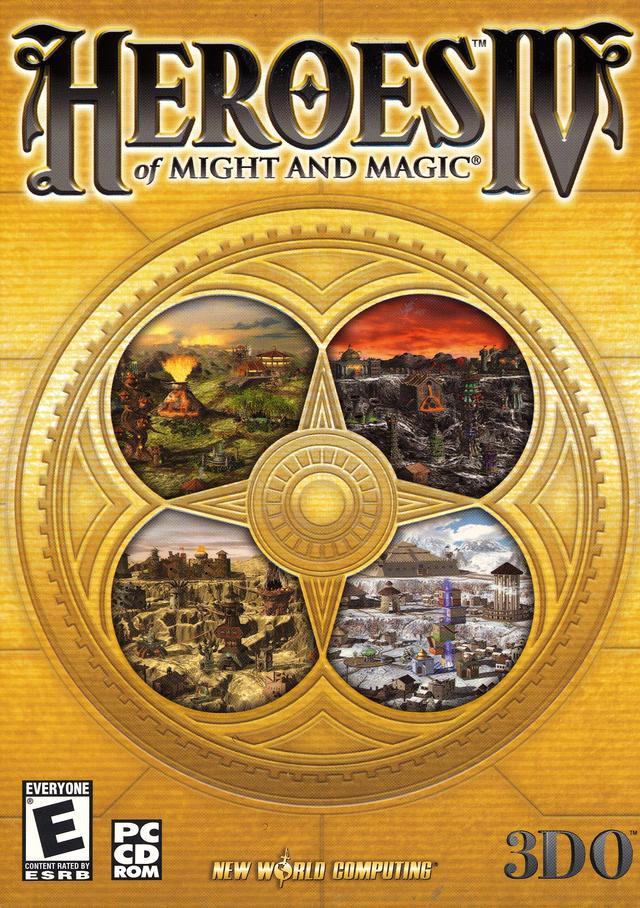 Вообще-то, оригинальное название игры - Heroes of Might and Magic IV&